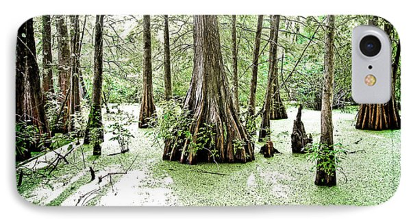 Lake Martin Swamp Phone Case by Scott Pellegrin