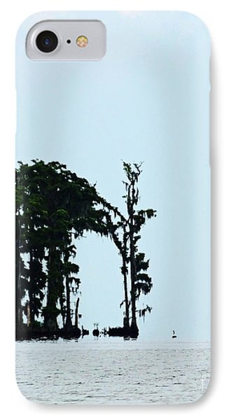Lake Maurepas Cypress IPhone Case