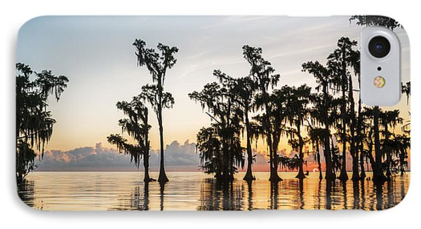 Lake Maurepas Sunrise IPhone Case