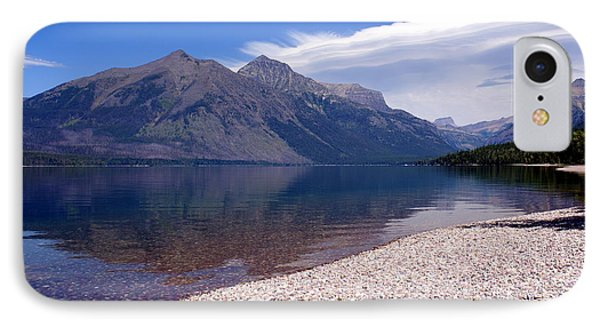 Lake Mcdonald Reflection Glacier National Park 4 Phone Case by Marty Koch