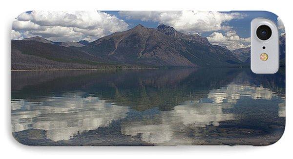 Lake Mcdonald Reflection Glacier National Park Phone Case by Marty Koch