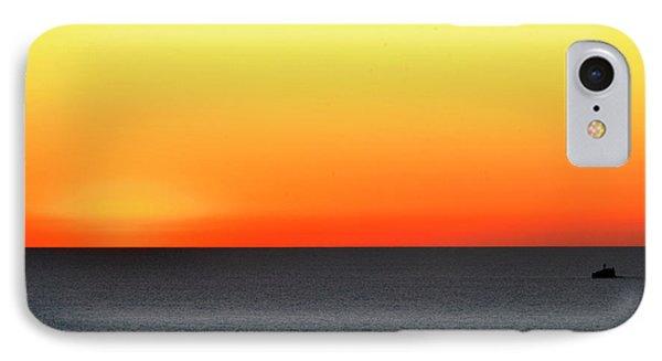 Lake Michigan Sunrise IPhone Case by Zawhaus Photography