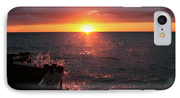 IPhone Case featuring the photograph Lake Michigan Sunset by Bruce Patrick Smith