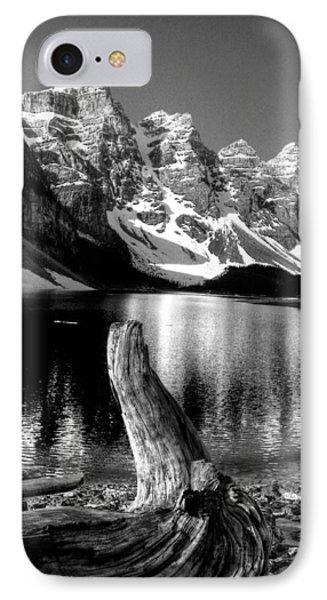 Lake Moraine Drift Wood IPhone Case