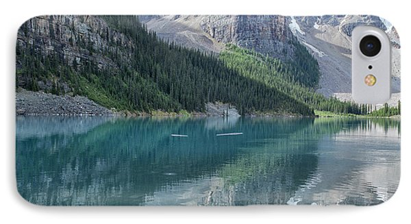 IPhone Case featuring the photograph Lake Moraine by Patricia Hofmeester