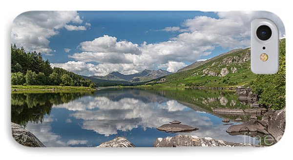 Lake Mymbyr Rocks IPhone Case by Adrian Evans