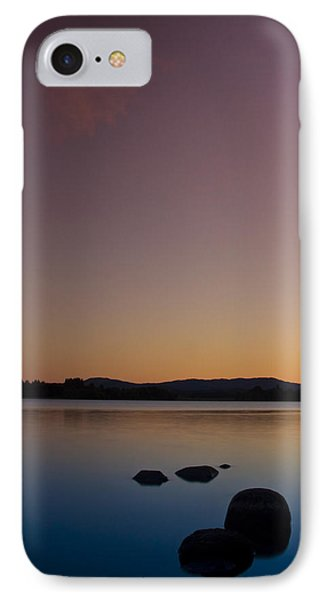 IPhone Case featuring the photograph Lake Of Menteith By Sunset by Gabor Pozsgai