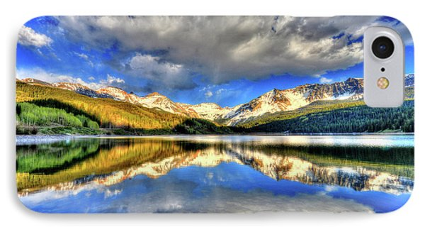 Lake Of Time IPhone Case by Scott Mahon