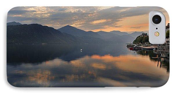 Lake Orta Phone Case by Joana Kruse