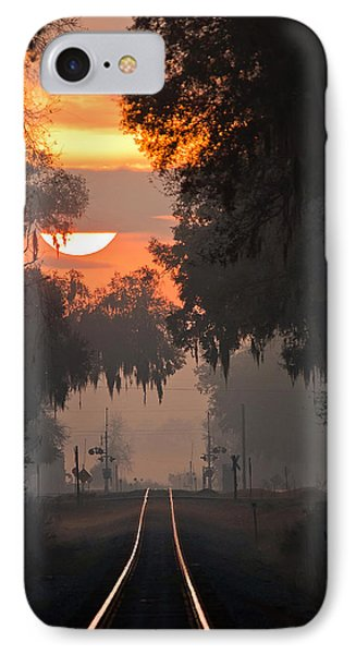 Lake Park Sunrise IPhone Case