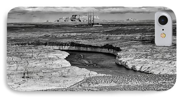 Lake Powell - Colorado River - Navajo Generating Station - Glen Canyon Page Northern Arizona IPhone Case by Silvio Ligutti