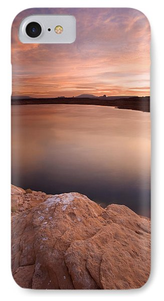 Lake Powell Dawn IPhone Case by Mike  Dawson