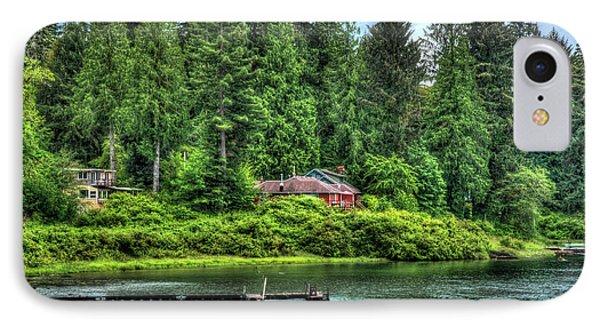 Lake Quinault 3 IPhone Case by Richard J Cassato