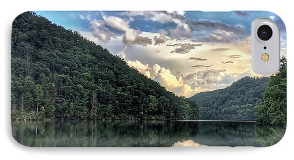 IPhone Case featuring the photograph Lake Reflections by Kerri Farley