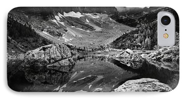IPhone Case featuring the photograph Lake Reflections by Yuri Santin