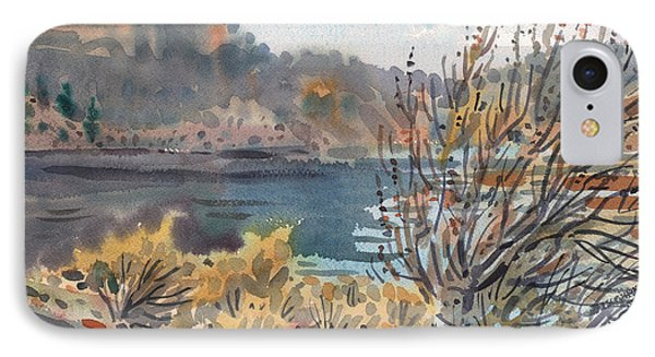Lake Roosevelt IPhone Case by Donald Maier