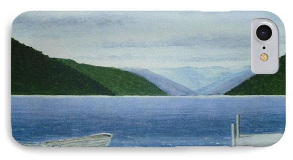 Lake Rotoroa, South Island, New Zealand Phone Case by Peter Farrow