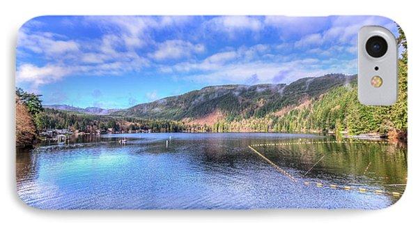 Lake Samish IPhone Case by Spencer McDonald