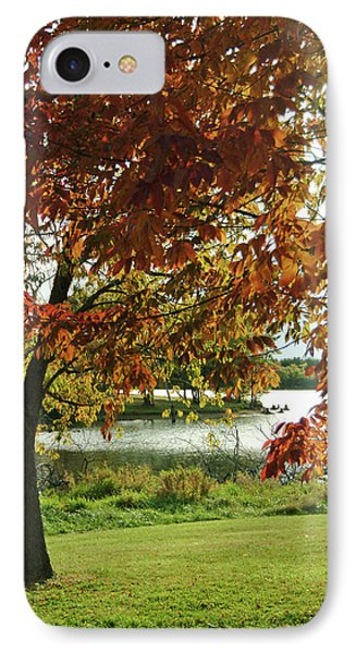 IPhone Case featuring the photograph Lake Shore Afternoon by Michael Flood