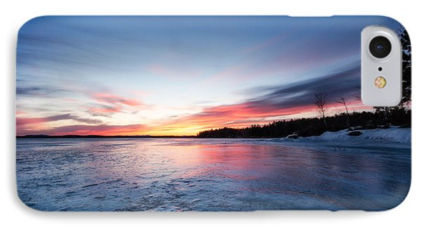 IPhone Case featuring the photograph Lake Shot by Robert Clifford