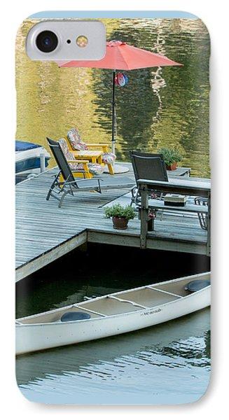 Lake-side Dock IPhone Case