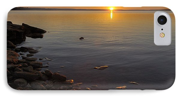 Lake Sunset IPhone Case by Rob Graham