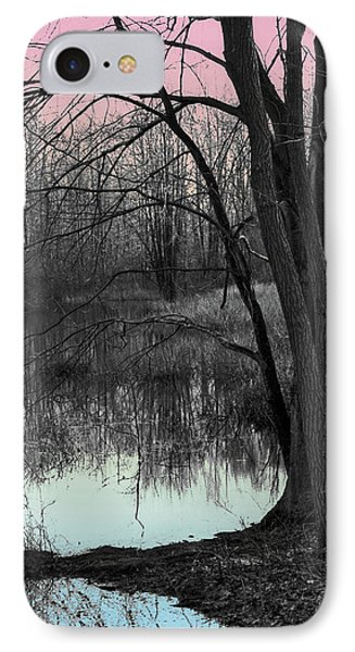 Lake Sunset IPhone Case by Terry Cork