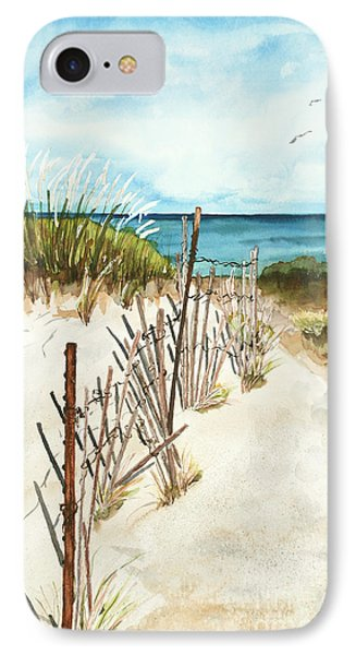 IPhone Case featuring the painting Lake Superior Munising by Sandra Strohschein