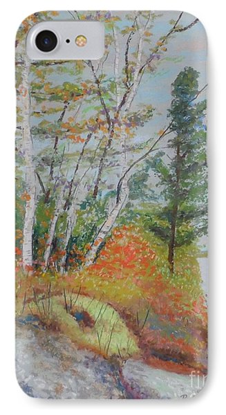 Lake Susie In Fall IPhone Case by Rae  Smith  PAC