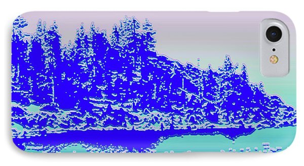 Lake Tahoe No. 17-2 IPhone Case by Sandy Taylor