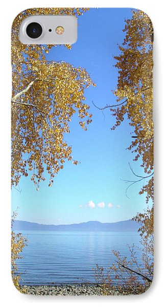 Lake Tahoe Autumn IPhone Case by Connie Handscomb