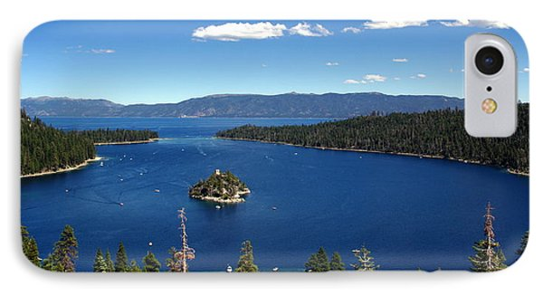 Lake Tahoe Emerald Bay IPhone Case by Jeff Lowe