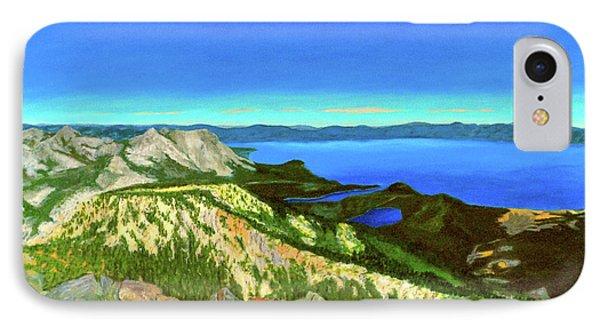 Lake Tahoe Panorama IPhone Case