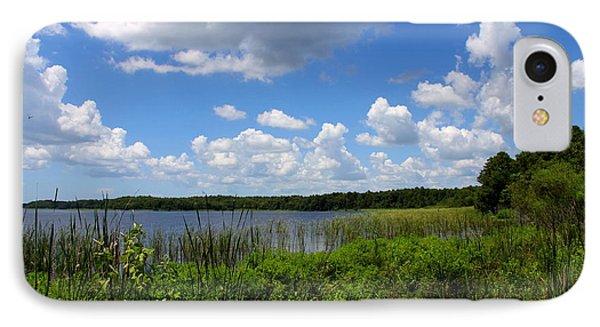 Lake Tarpon Phone Case by Barbara Bowen