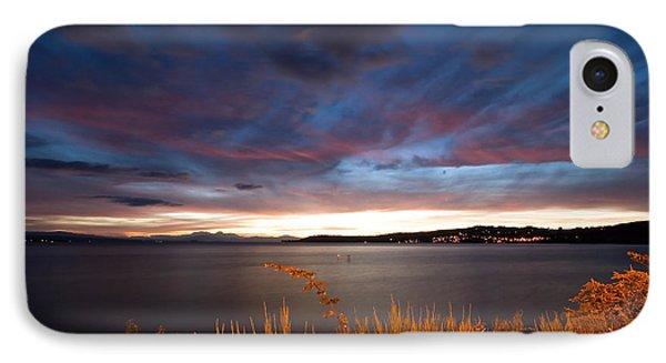 Lake Taupo Sunset Phone Case by Marc Garrido