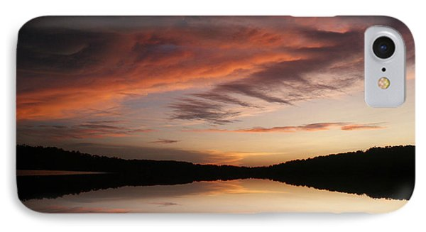 Lake Thunderbird Sunset IPhone Case by Rick Friedle