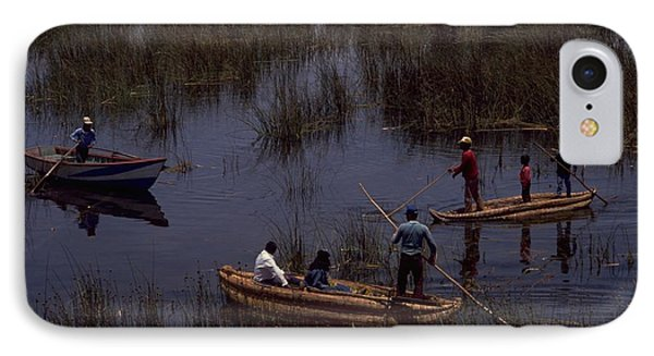 Lake Titicaca Reed Boats IPhone 7 Case