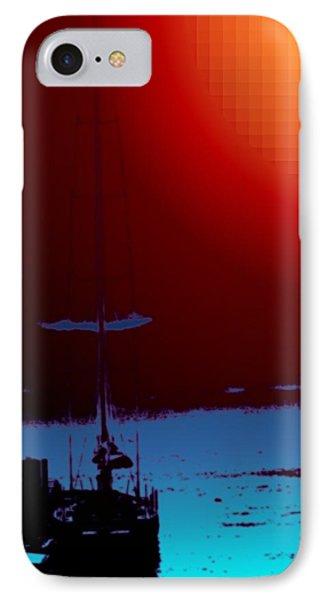 Lake Union Moorage Phone Case by Tim Allen