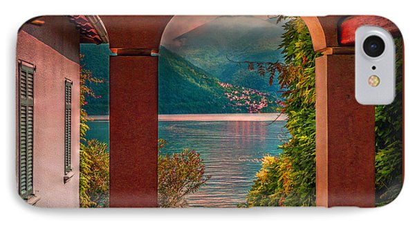 Lake View IPhone Case by Hanny Heim
