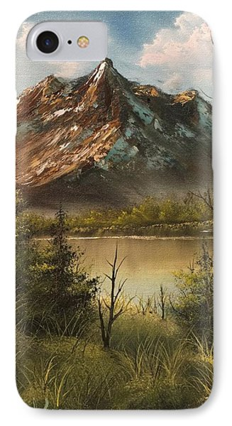 Lake View Mountain  IPhone Case