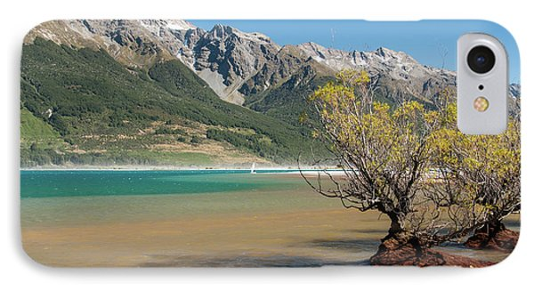Lake Wakatipu IPhone 7 Case by Werner Padarin