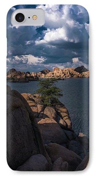IPhone Case featuring the photograph Lake Watson Prescott Arizona 2498 by David Haskett