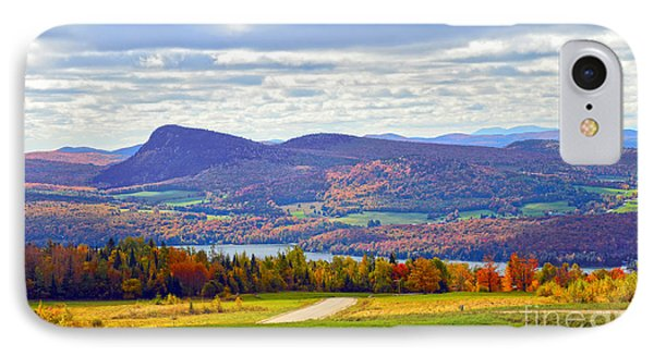 Lake Willoughby In Autumn Phone Case by Catherine Sherman