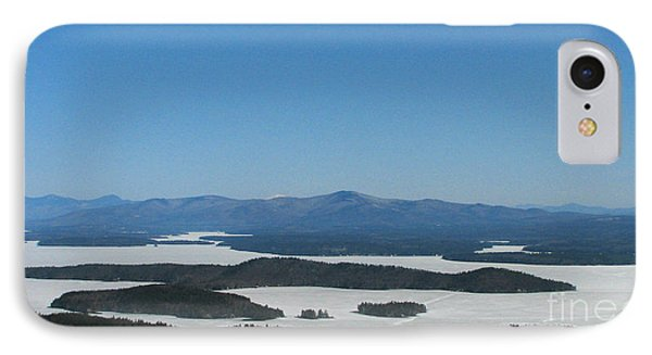 Lake Winnipesaukee View From Mt. Major Phone Case by Michael Mooney