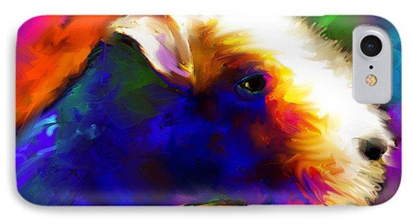 Lakeland Terrier Dog Painting Print Phone Case by Svetlana Novikova