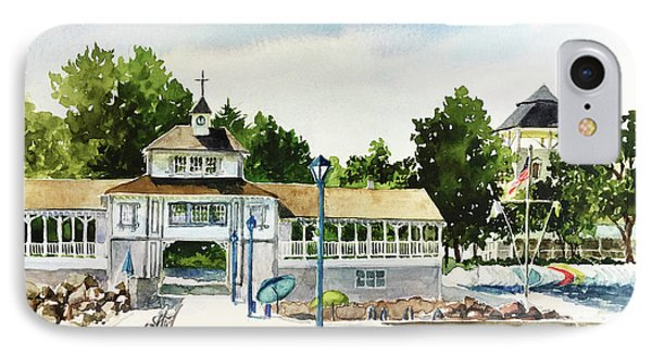 Lakeside Dock And Pavilion IPhone Case