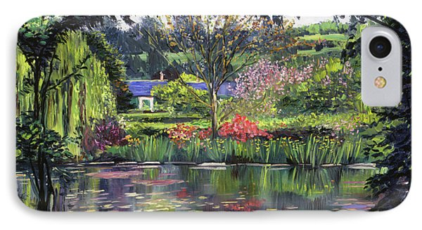 Lakeside Giverny IPhone Case