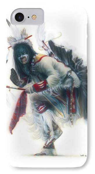 Lakota Dancer IPhone Case