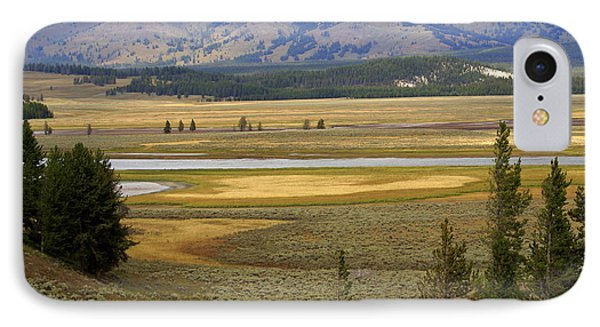 Lamar Valley 1 Phone Case by Marty Koch