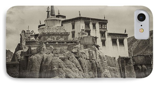 Lamayuru Monastery IPhone 7 Case by Hitendra SINKAR